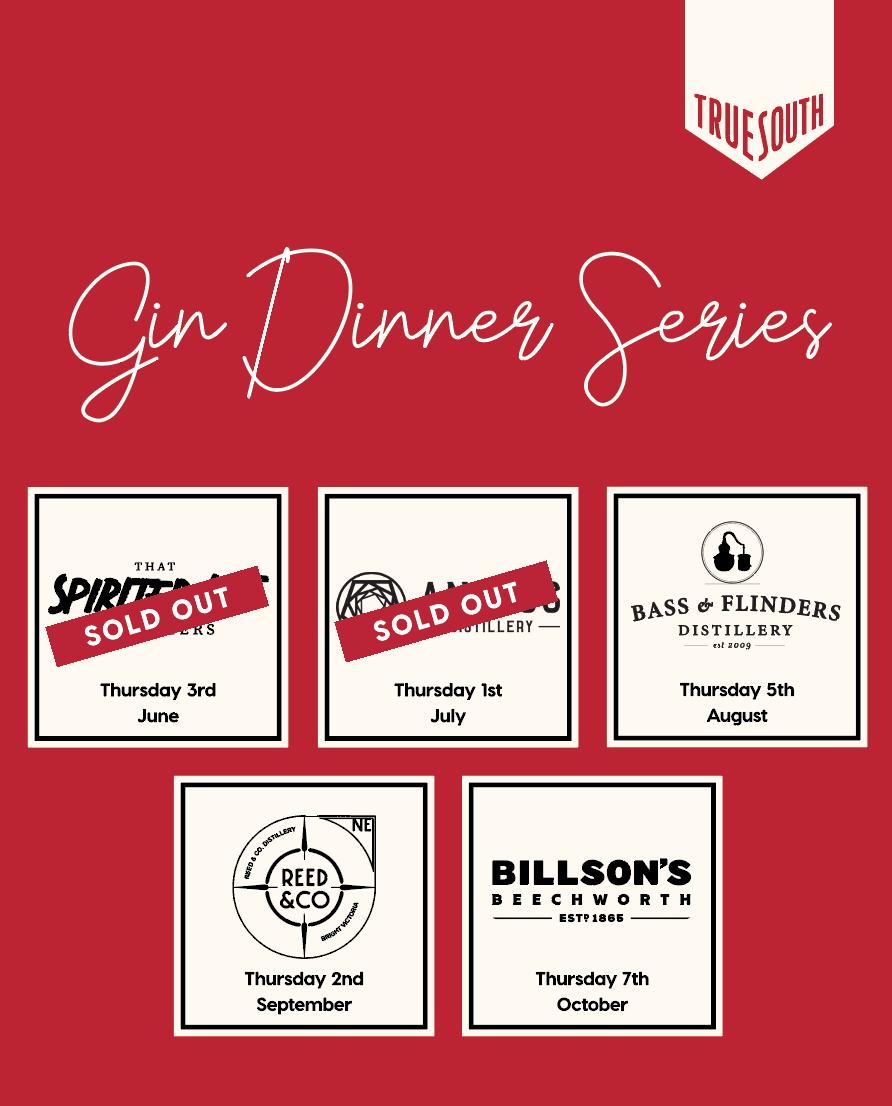 Gin Dinner Series Poster