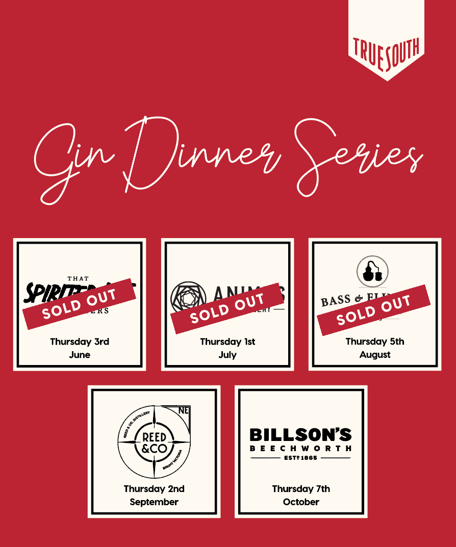 Bass & Flinders Gin Dinner Sold out